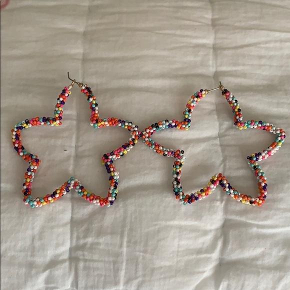 Bauble Bar 'multi-colored beaded' earrings.